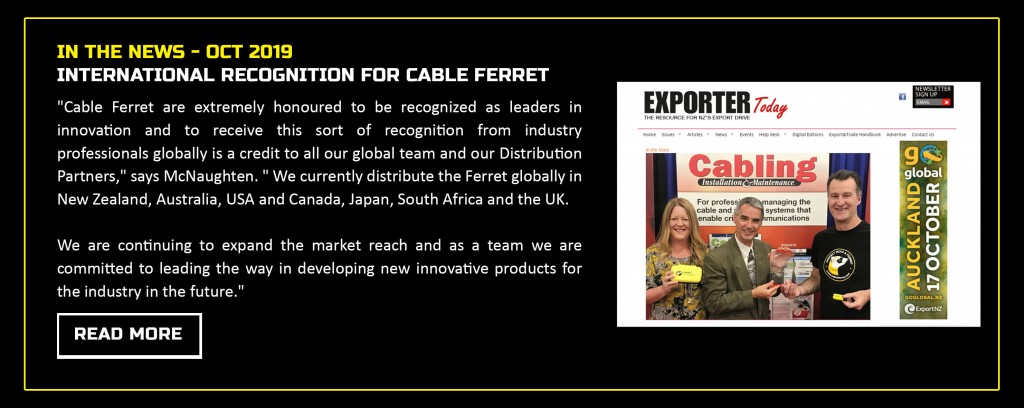 Cabling Platinum Innovators Award